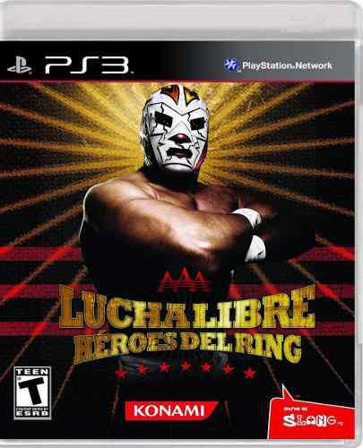 Aaa Lucha Libre Heroes Del Ring Ps3 Nuevo