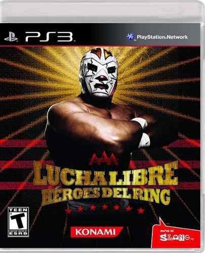 Aaa Lucha Libre Heroes Del Ring Ps3 ----------------mr.game