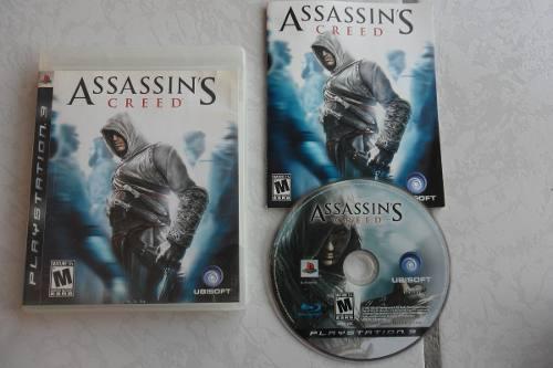 Assassin's Creed 1 Completo Para Tu Ps3 Juegazo Clásico!!!