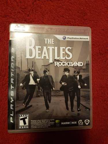 Beatles Rockband Ps3 Juego Completo En Excelente Estado