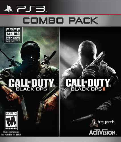 Call Of Duty Black Ops Combo 1 Y 2: Ps3 Nuevo
