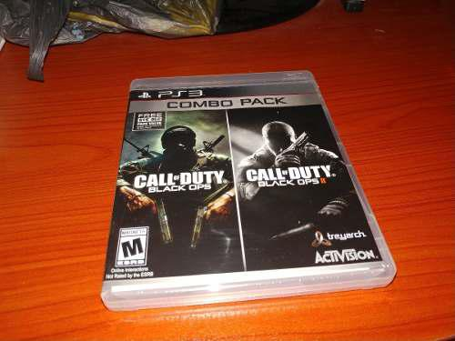 Call Of Duty Black Ops Combo Pack Nuevo Y Sellado