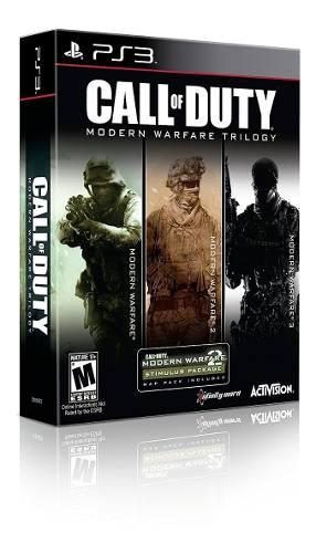 Call Of Duty Modern Warfare Collection Ps3 Nuevo