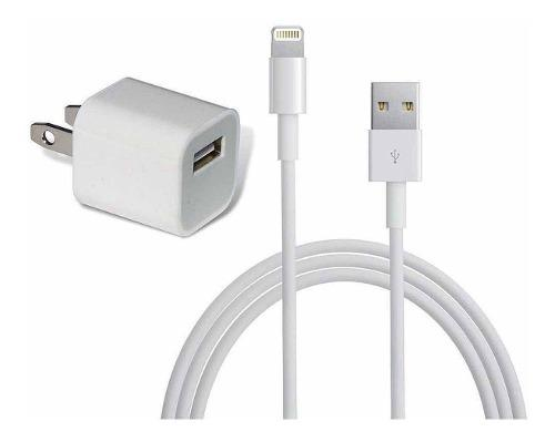 Cargador iPhone Lightning 1m Original Apple 5 6 7 8 X