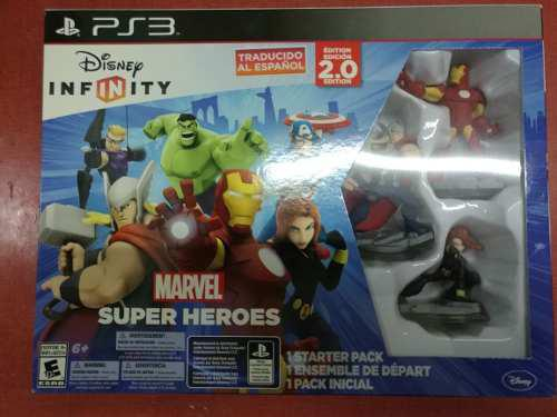 Disney Infinity 2.0 Marvel Super Heroes Starter Pack Ps3: