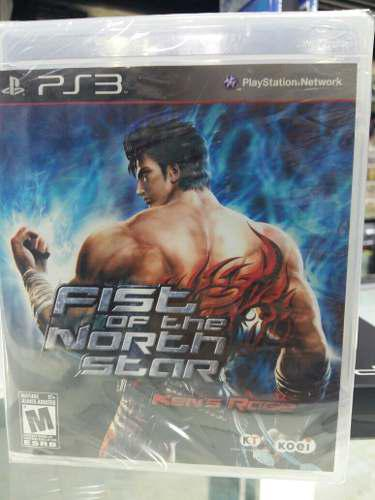 Fist Of The North Star Ken's Rage Ps3 Usado En Ingles