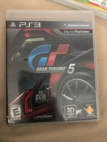 Gran Turismo 5 Playstation 3 Ps3