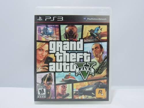 Grand Theft Auto V - Ps3 ¡fisico-usado!