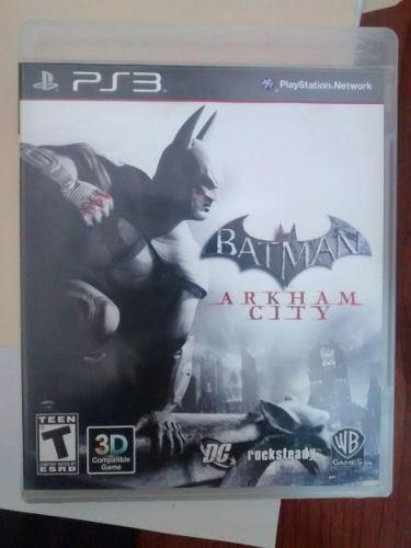 Juego De Batman Arkham City Para Ps3