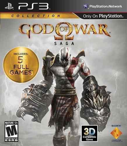 Juego God Of War Saga Ps3 Nuevo Original