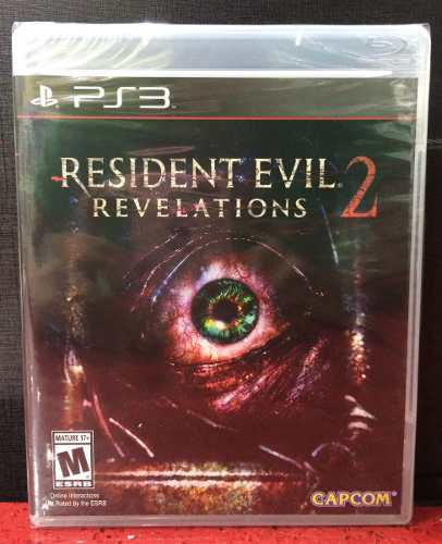 Juego Resident Evil Revelations 2 Ps3 Nuevo Original