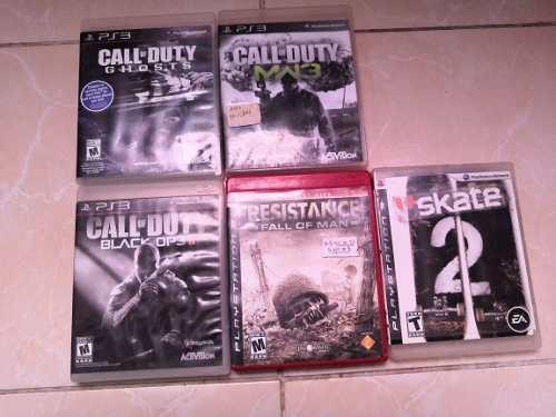 Juegos Para Ps3 Pack De 5