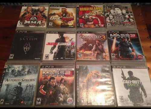 Juegos Play Station 3 Ps3 Uncharted 3 Skyrim Effect Cause