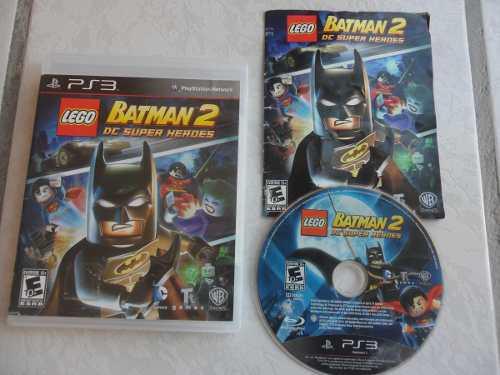 Lego Batman 2 Completo Para Tu Ps3 Juegazo!!! Chécalo