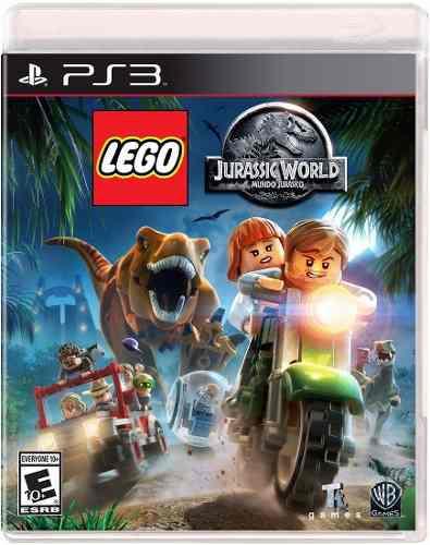 Lego Jurassic World Playstation 3 Nuevo Sellado