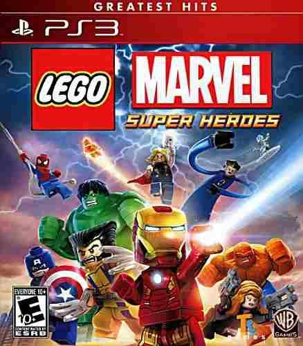 Lego Marvel Super Heroes Playstation 3 Nuevo