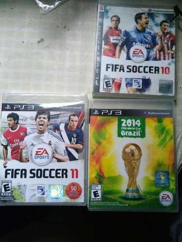 Lote De 3 Juegos Fifa Ps3