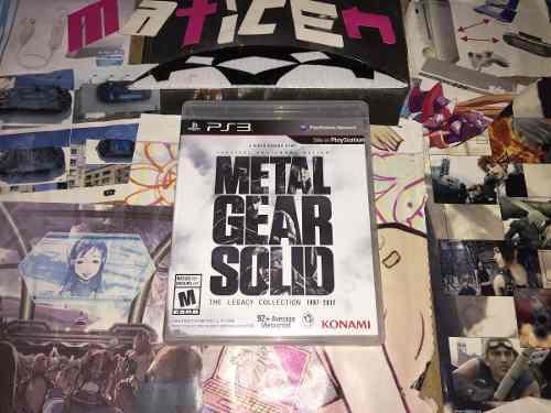 Metal Gear Solid The Legacy Collection Ps3. Venta O Cambio
