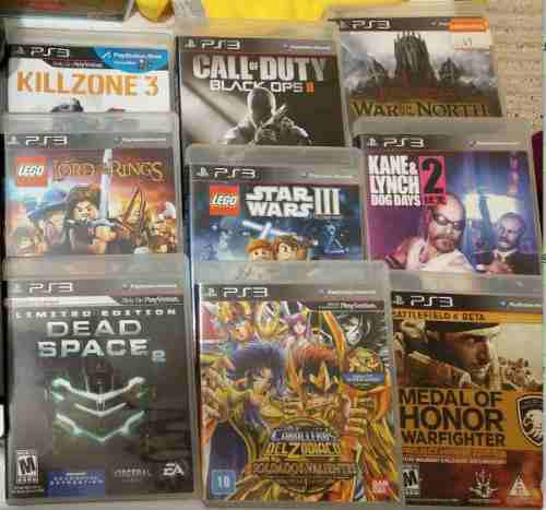 Play Station 3 Lote Juegos Call Of Duty Caballeros Lego