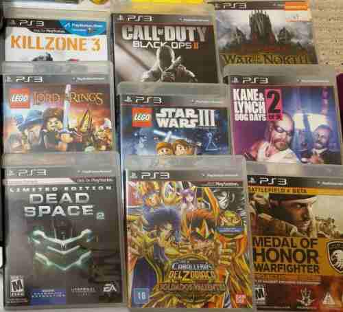 Play Station Ps3 Lote 1 Juego Call Of Duty Caballeros Lego