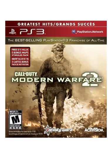 Ps3 Juego Call Of Duty Modern Warfare 2 + Envío Gratis