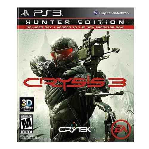 Ps3 Juego Crysis 3 Hunter Edition - Envío Gratis