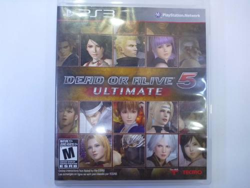 Ps3 Juego Dead Or Alive 5 Ultimate