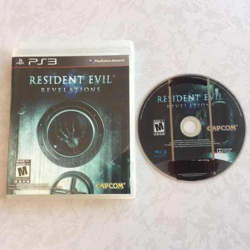 Resident Evil Revelations Juegazo Para Tu Ps3 Chécalo