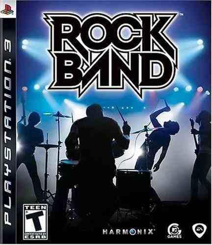 Rock Band + Guitarra De Juego Ps3
