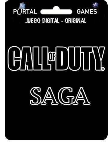 Saga Call Of Duty Para Ps3 Todos Los Titulos