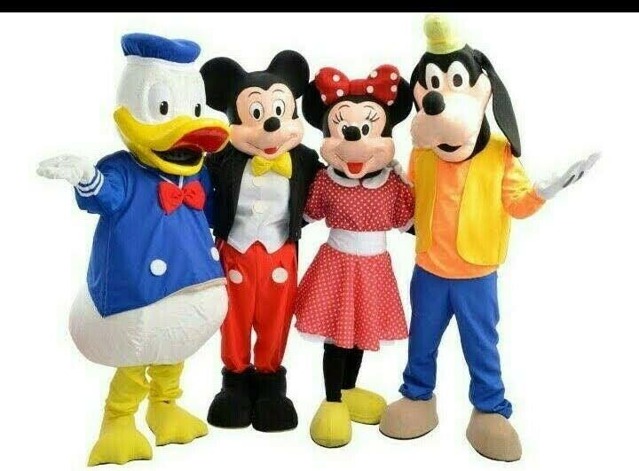 Show de Mickey y Minnie mouse en Puebla