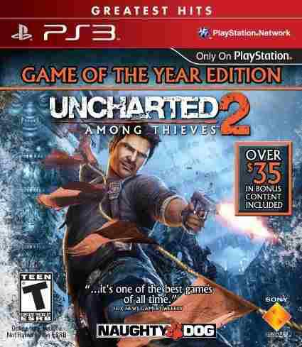 Uncharted 2 Among Thieves Ps3 Videojuego En Caja Sellado