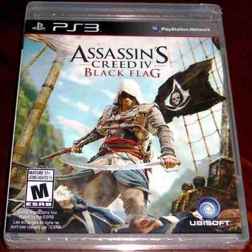 Videojuego Assassin's Creed Iv Black Flag Ps3 Físico Nuevo