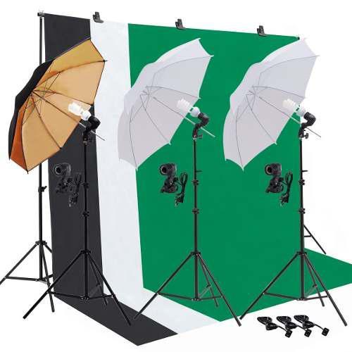 29 Piezas- Kit Estudio Fotográfico Set Fotografía Uenjoy