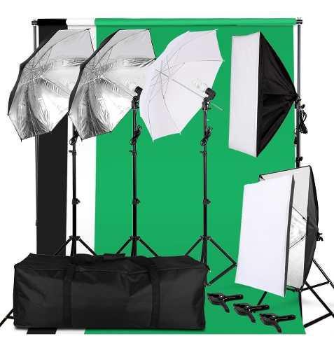 37 Piezas-set Estudio Fotográfico-kit Fotografía- Envió