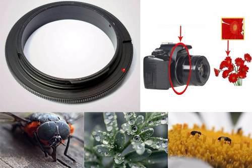 Anillo Inversor De 58mm Macro Para Lente Nikon Nikkor
