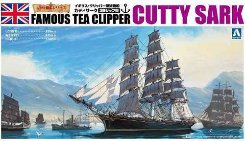 Aoshima Bunka Kyozai 1/350 Velero No.02 Cutty Sark