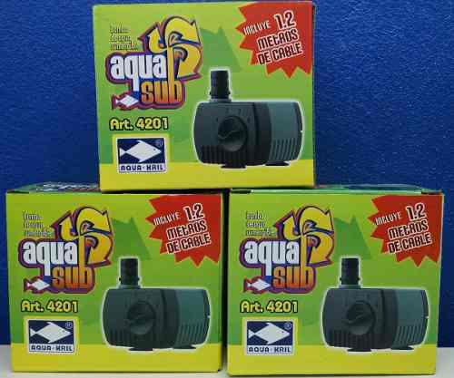 Bomba De Agua Aquakril 4201 50cms Acuario Fuentes Pecera