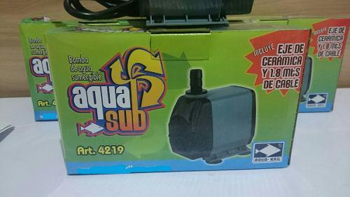 Bomba De Agua Sumergible 3000l/h 3.5m Estanque Muro Fuente