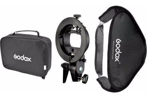 Caja De Luz Para Flash Godox Softbox Handy 80x80cm