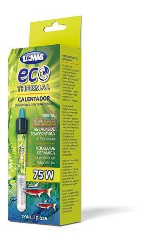 Calentador Con Termostato Eco-termal 75 W P/ Acuario