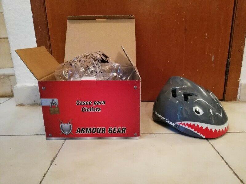 Casco para niños ciclistas casco de tiburón para niños