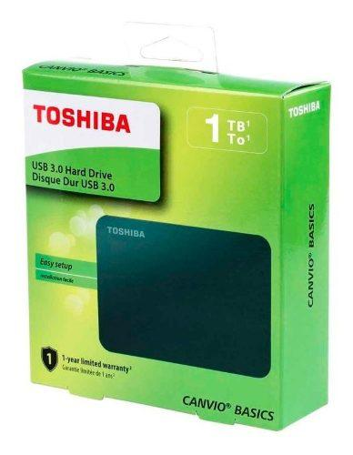 Disco Duro Externo 1tb Canvio Basics Portátil 3.0 Toshiba