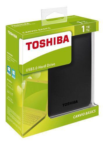 Disco Duro Externo Toshiba Canvio 1tb Hdtb410xk3aa