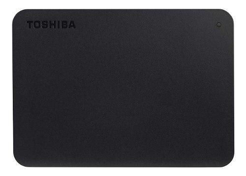 Disco Duro Externo Toshiba Canvio Negro 4tb 2.5 Hdtb440xk3ca