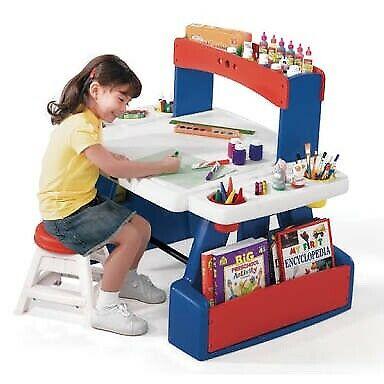 Escritorio de creatividad para dos niños Step 2