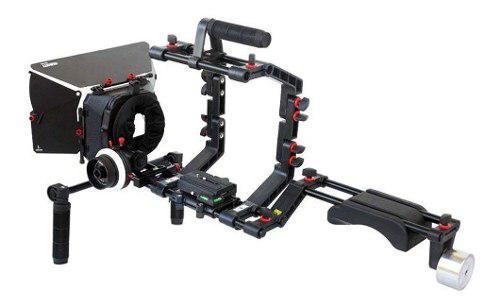 Filmcity Dslr Camera Cage Shoulder Mount Rig Kit (fc-03)