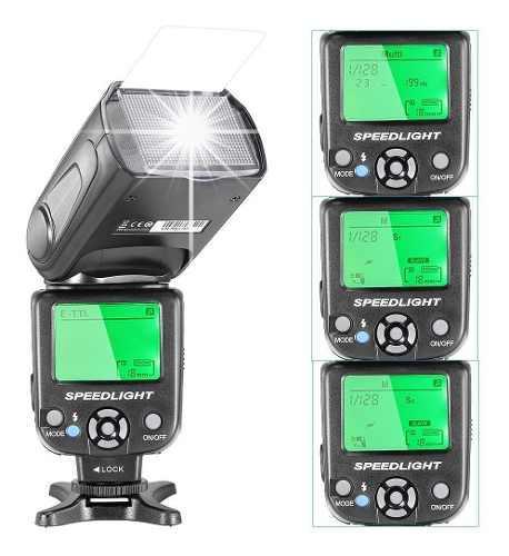 Flash Automatico Para Nikon Ttl Neewer Con Difusor De Regalo