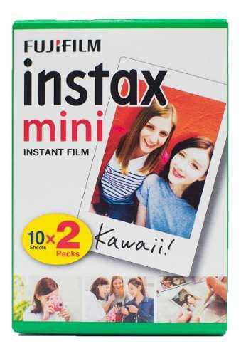 Fujifilm Cartucho Instax Mini Iso 800 Twin Pack (20 Hojas)