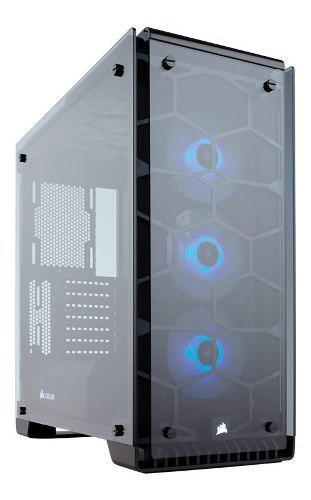 Gabinete Corsair Crystal 570x Rgb Atx Usb 3.0 S/fte